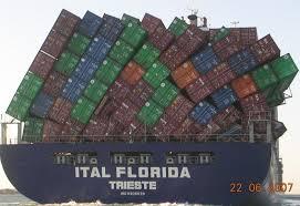Barco con contenedores convenio solas